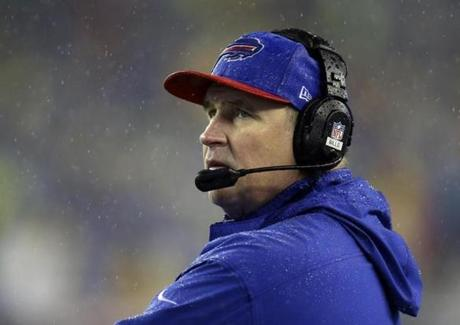 Doug Marrone wants to see changes in Buffalo.